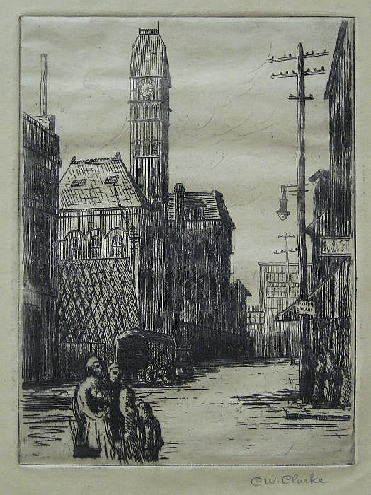 CHRISTOPHER W. CLARKE (American, 1879-1958)