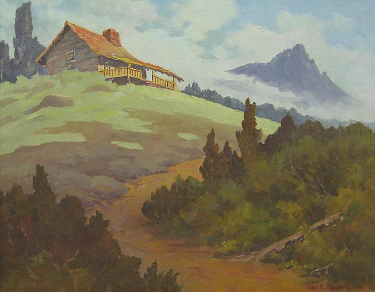 ARTHUR A. SELANDER  (American, 1884-1978)