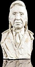 Alonzo Victor Lewis, American (1886 - 1946), Win-A-Po, maquette, 12 1/4 x 7 1/2 x 6 in. (31.1 x 19.1 x 15.2 cm)