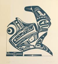 5 Patrick Amos prints, Dogfish, from an edition of 110 18 x 16 in. (45.7 x 43.2 cm)