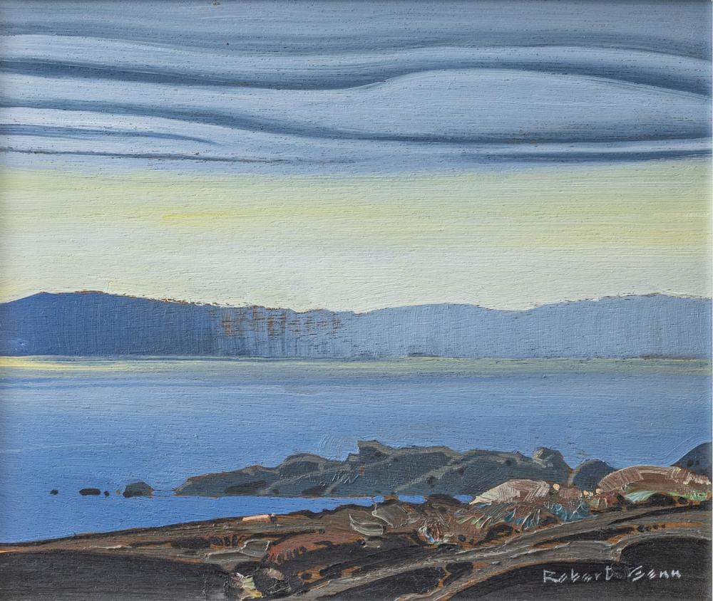 Robert Genn, Canadian (1936-2014), Clearing October, oil on panel, 10 x 12 in. (25.4 x 30.5 cm)
