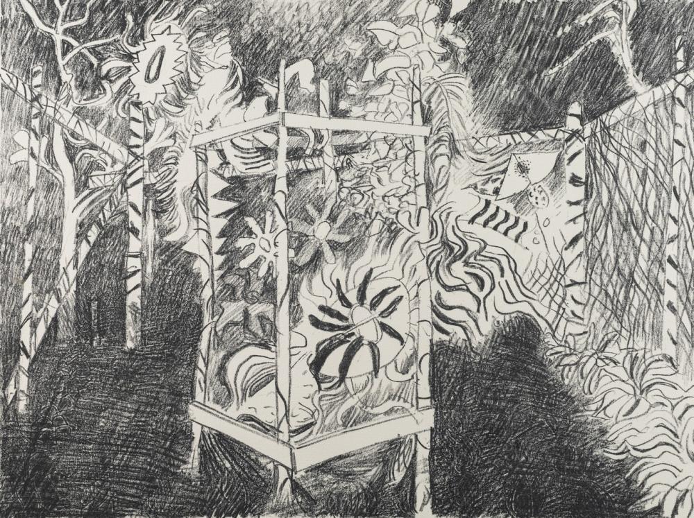 Jack Shadbolt, Canada (1909-1998), Secret Garden #5, lithograph, A/P, 15 3/4 x 21 in. (40 x 53.3 cm)(unframed)