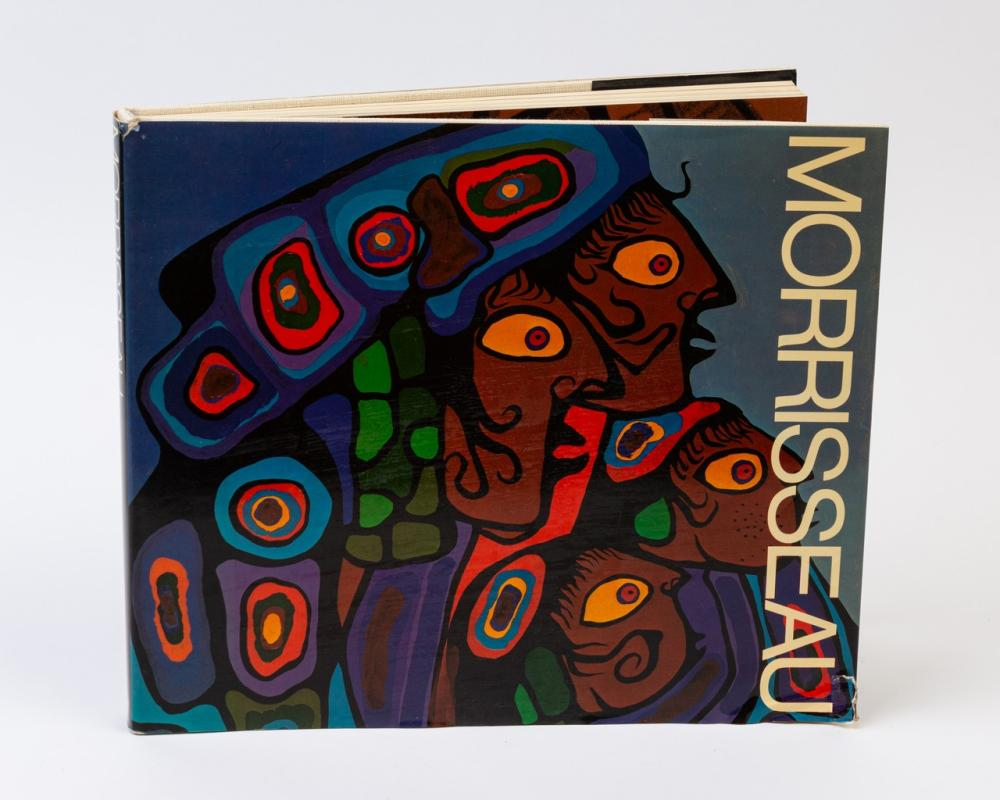 An autographed copy of The Art of Morrisseau,