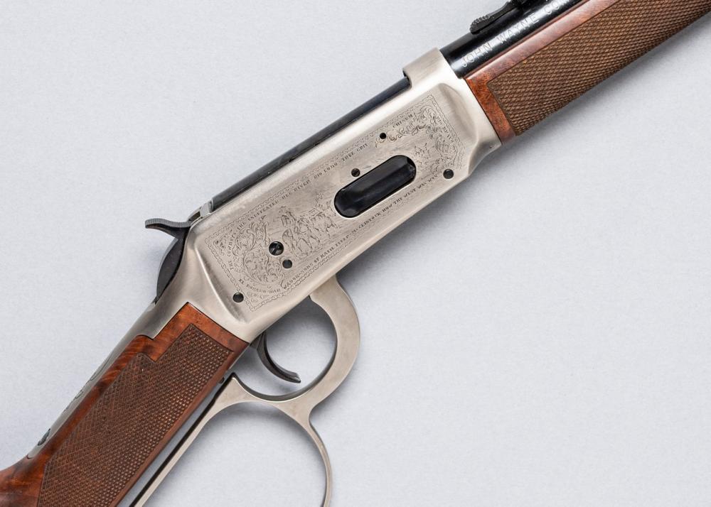 Winchester, Model 94 John Wayne Commemorative lever action carbine,