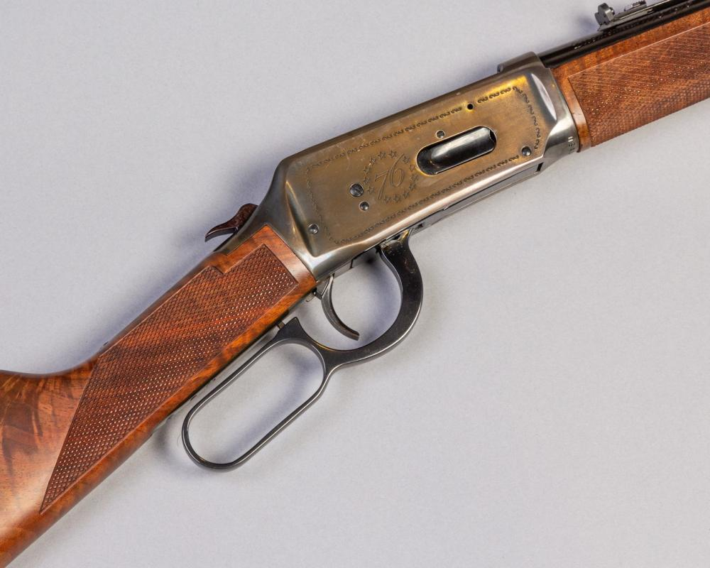 Winchester, Model 94 Bicentennial 76 lever action rifle,