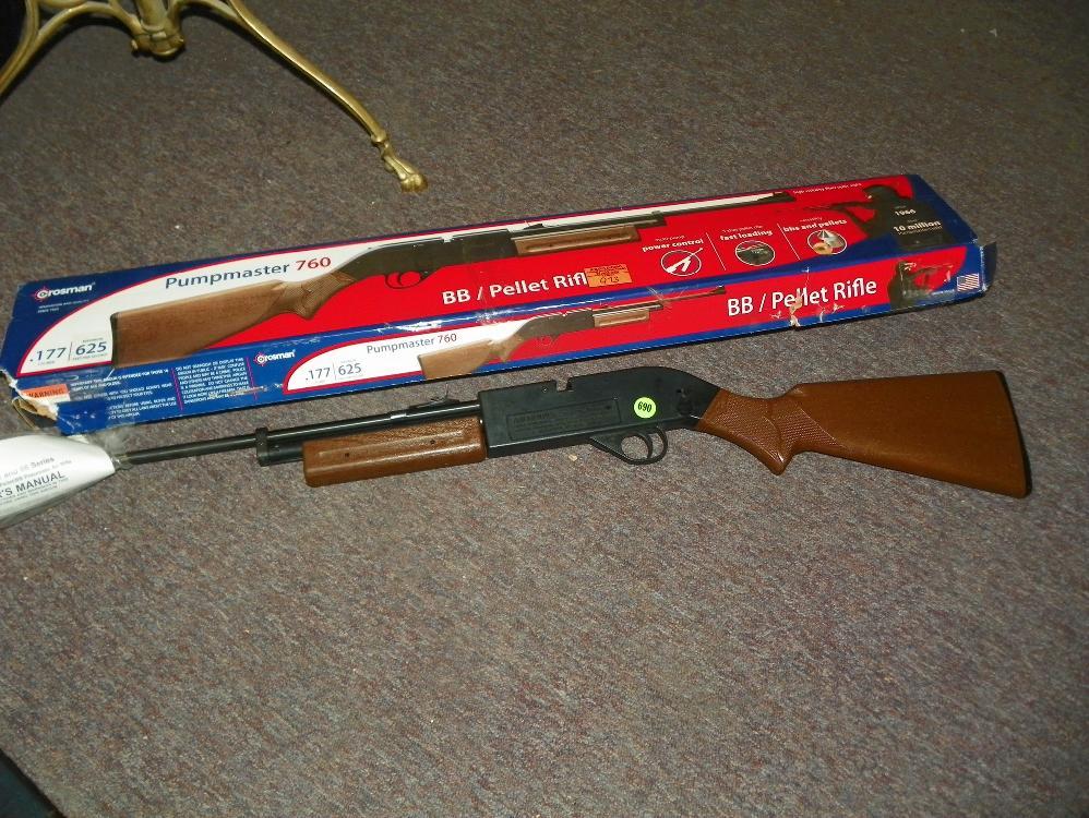 PUMPMASTER 760 - BB/PELLET RIFLE