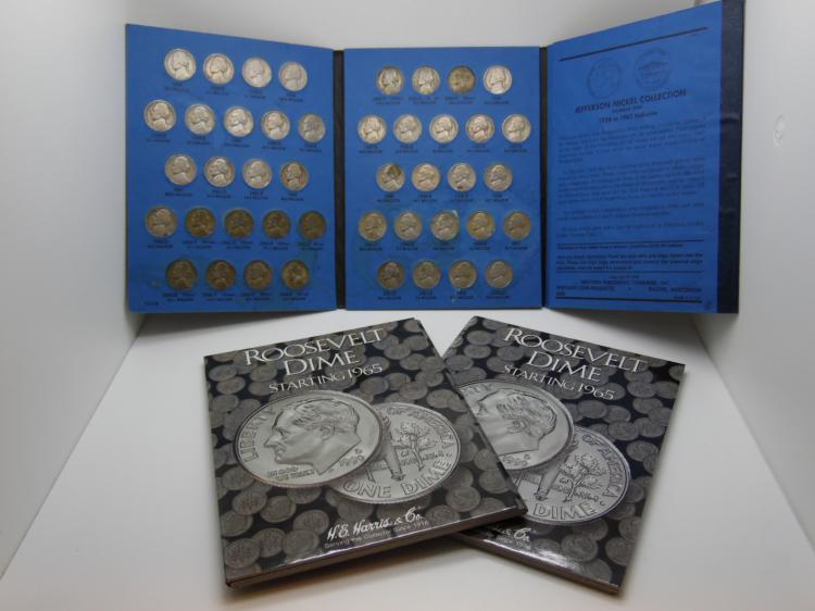 Jefferson Nickel Coin Books New