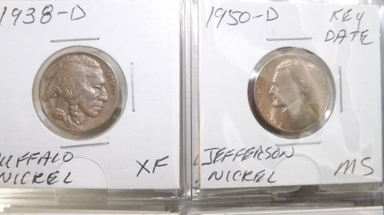 COIN ALBUM CONTAINING 19 INDIAN HEAD PENNIES, 21 LINCOLN