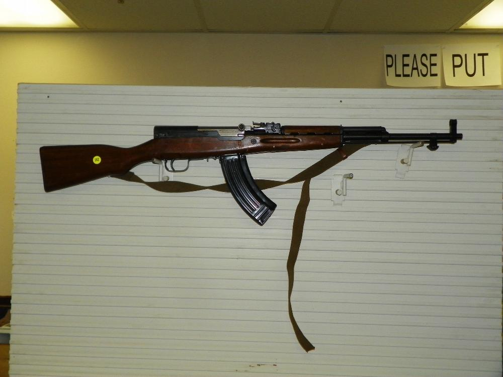 CHINESE SKS WITH SLING, BRACKET FOR BAYONETTE, FLIP SIGHTS