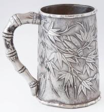 Sterling Silver Chinese Export Mug