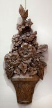 French Carved Floral Bouquet
