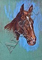 WILLIAM WRIGHT CAMPBELL (1913-1992) HORSE STUDY, William Wright Campbell, Click for value