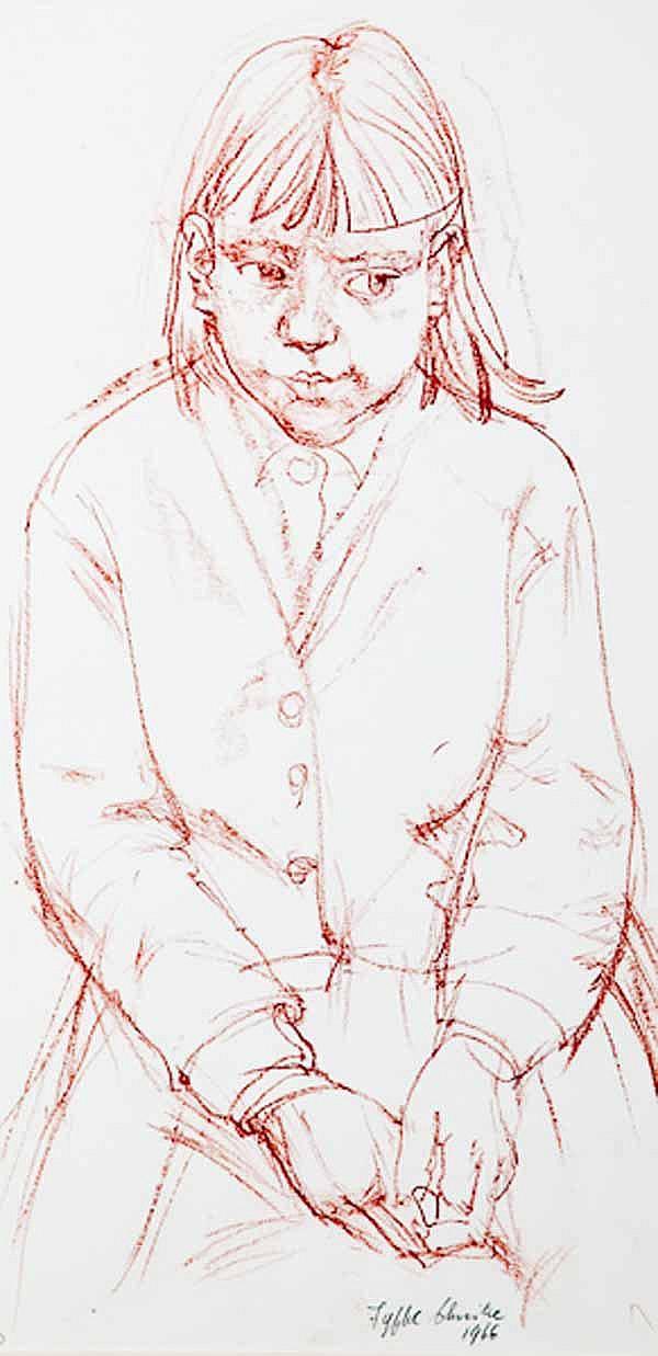 FYFFE CHRISTIE (British 1918 -1979) A Schoolgirl