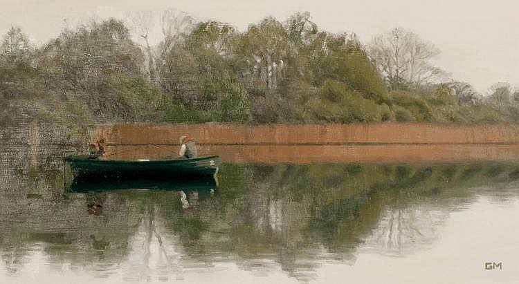GARY MORROW - FISHING ON ESTHWAITE