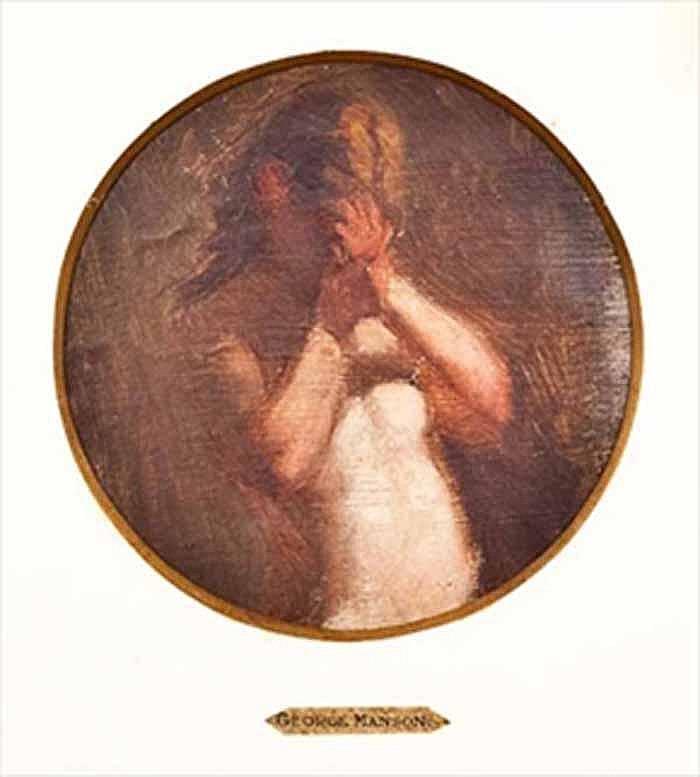 GEORGE MANSON (SCOTTISH 1850 - 1876) STUDY OF A
