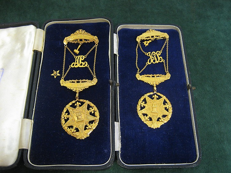 Collection of Masonic Jewels and Regalia for Islay