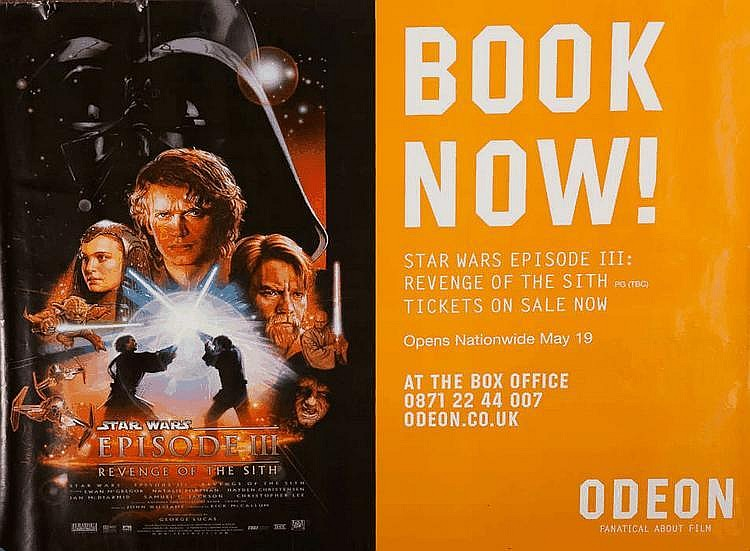 Star Wars Episode Iii Revenge Of The Sith Movie