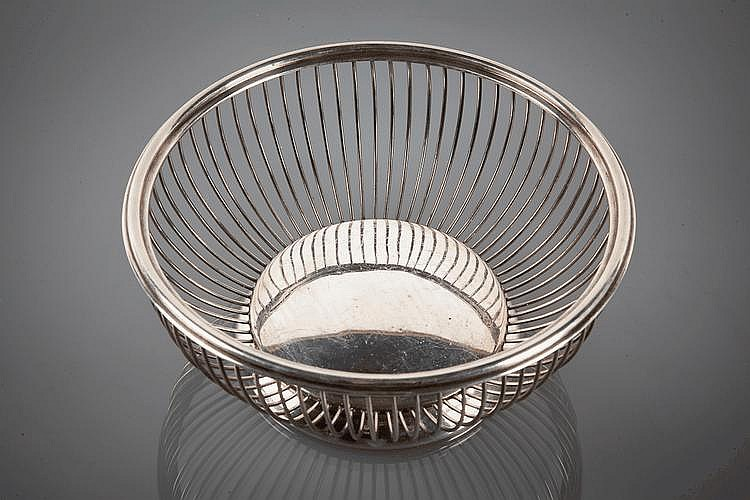 PERUVIAN SILVER FRUIT BOWL