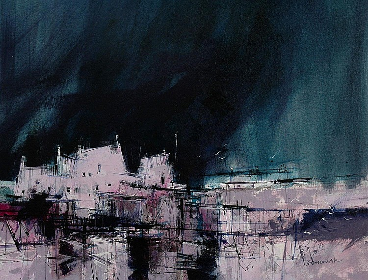 JAMES SOMERVILLE Approaching Storm acrylic on
