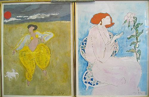 Linda Le Kinff (French b.1949-) Limited edition