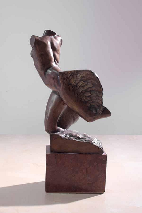 Charles Robinson Sykes British 1875 1950 Winged