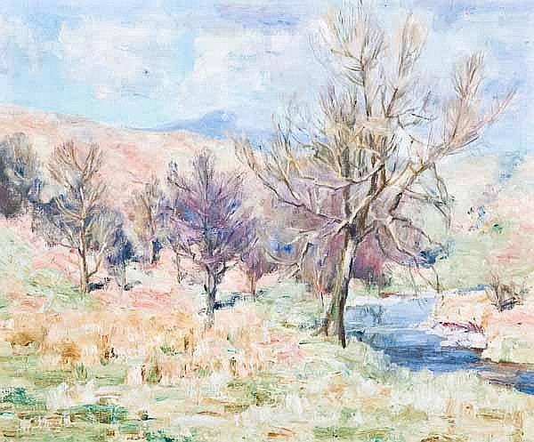 WILLIAM WRIGHT CAMPBELL (1913 - 1992) Landscape