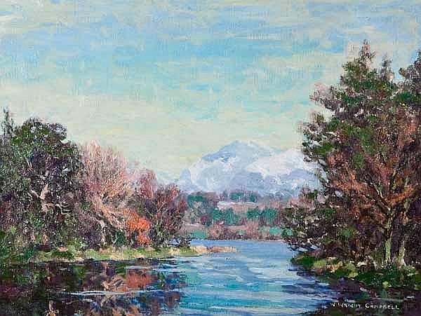 WILLIAM WRIGHT CAMPBELL (1913 - 1992) Loch scene