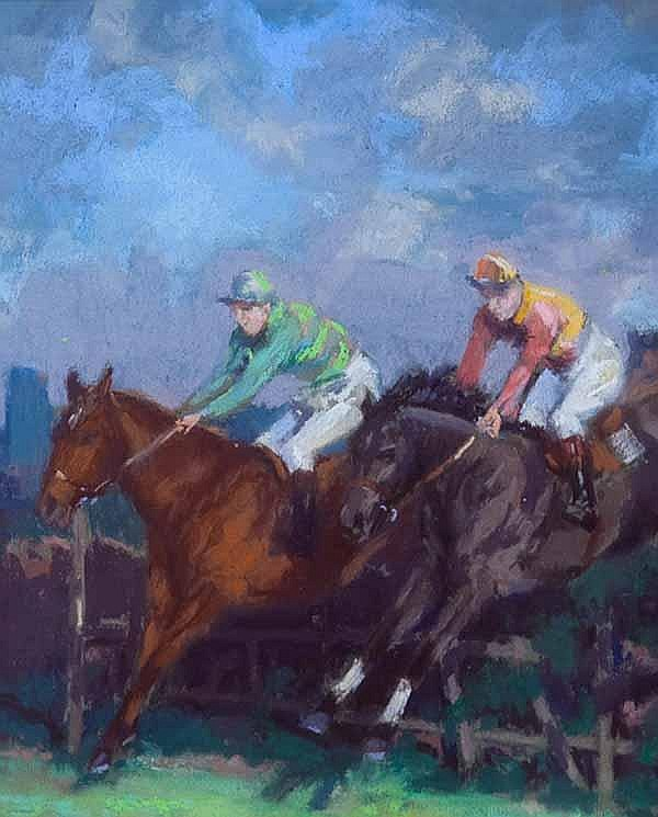 WILLIAM WRIGHT CAMPBELL (1913 - 1992) High Stakes