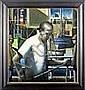 * STEPHEN MANGAN (SCOTTISH 1964 - ) HARBOUR ROPES, Stephen  Mangan, Click for value