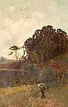 WILLIAM MACBRIDE (BRITISH 1856 - 1913) AT SUNRISE