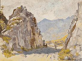 ROBERT LEWIS SUTHERLAND (SCOTTISH D 1932) ON THE