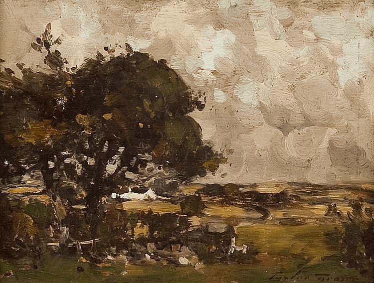 TAYLOR BROWN (SCOTTISH FL. 1900 - 1912) AYRSHIRE