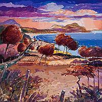JAMES S DAVIS DA PAI RSW HOLY ISLE, WHITING BAY,