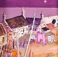 JAMES S. DAVIS PINK KNICKERS -- SCARANISH acrylic,