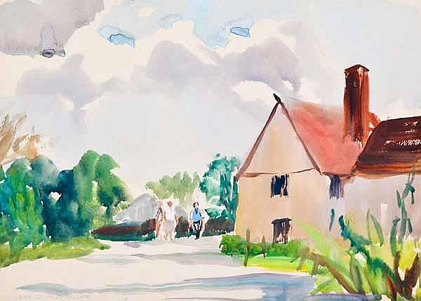 JEAN D ALEXANDER (British 1911 - 1994) Figures by