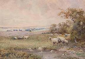 PERCY BROOKE (BRITISH) YELLOW HILLS, BLACKBURN