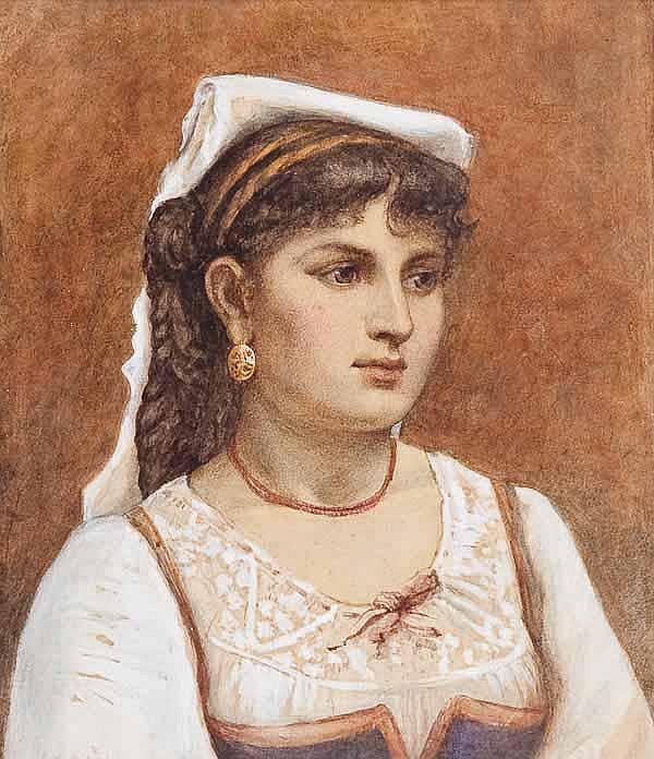 CATHERINE J. ATKINS (FL. 1871 - 1922) THE ITALIAN