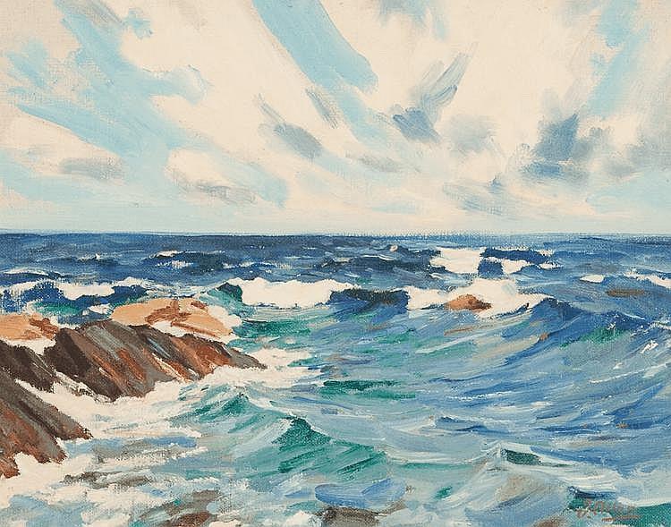 JOHN ALLAN (1893 - 1979)  - THE REEF