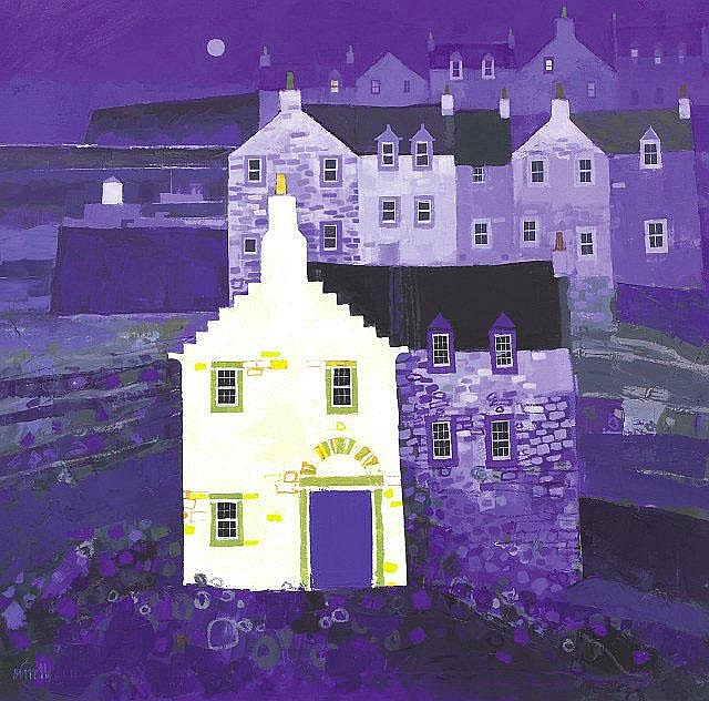 George Birrell Bright Gable oil on canvas 31 1/2in