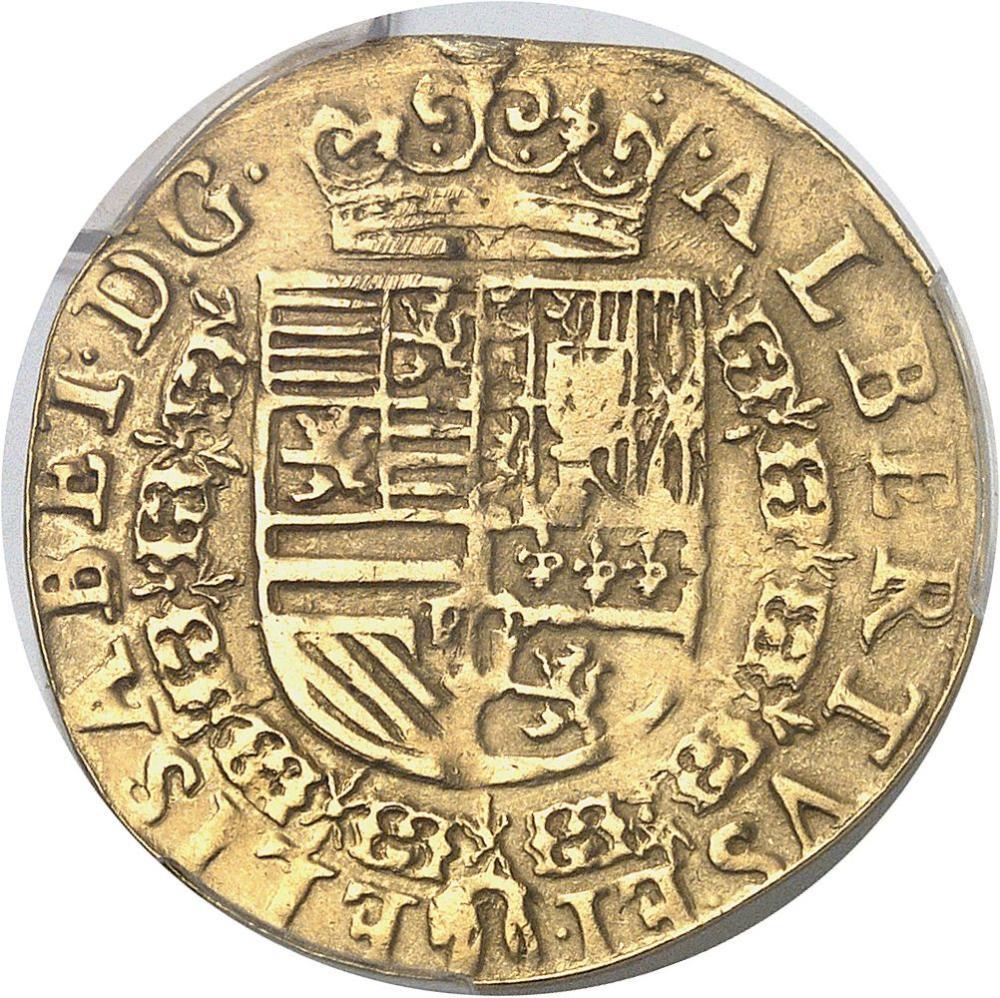 BELGIQUE Brabant (duché de), Albert et Isabelle (1598-1621). Double alberti