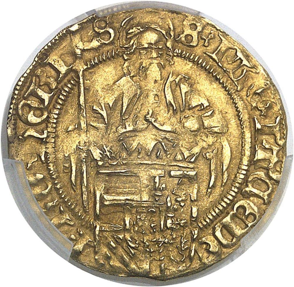 BELGIQUE Flandres (comté de), Philippe le Beau (1482-1506). Demi-florin au