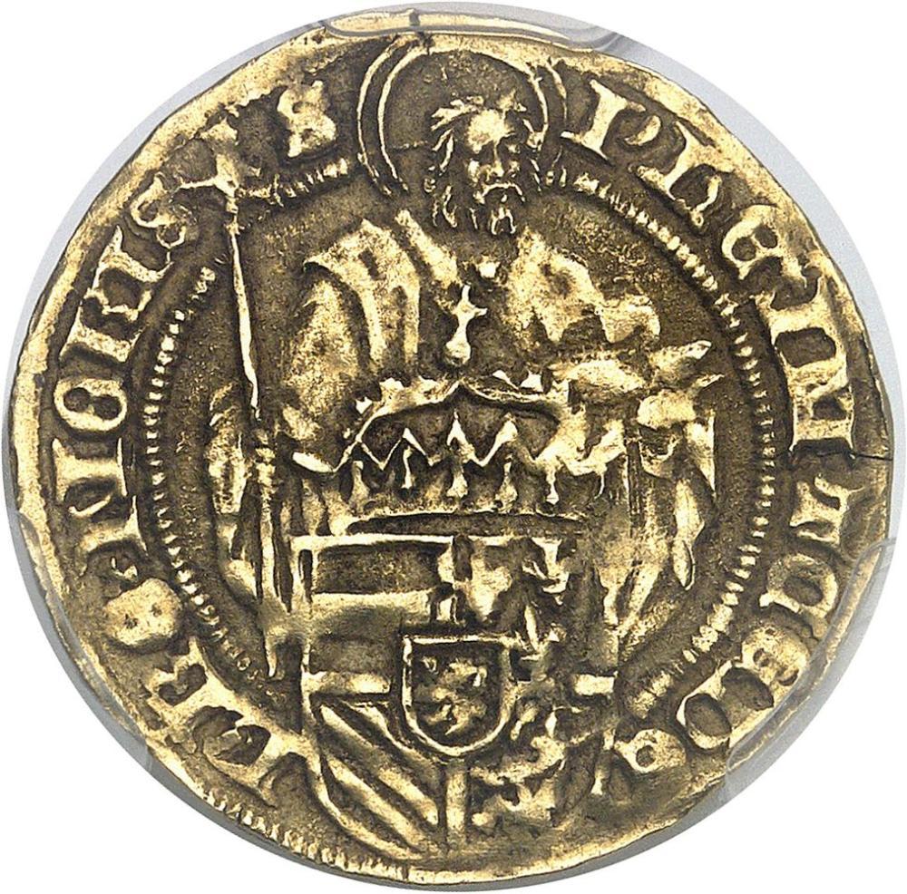 BELGIQUE Flandres (comté de), Philippe le Beau (1482-1506). Florin au Saint