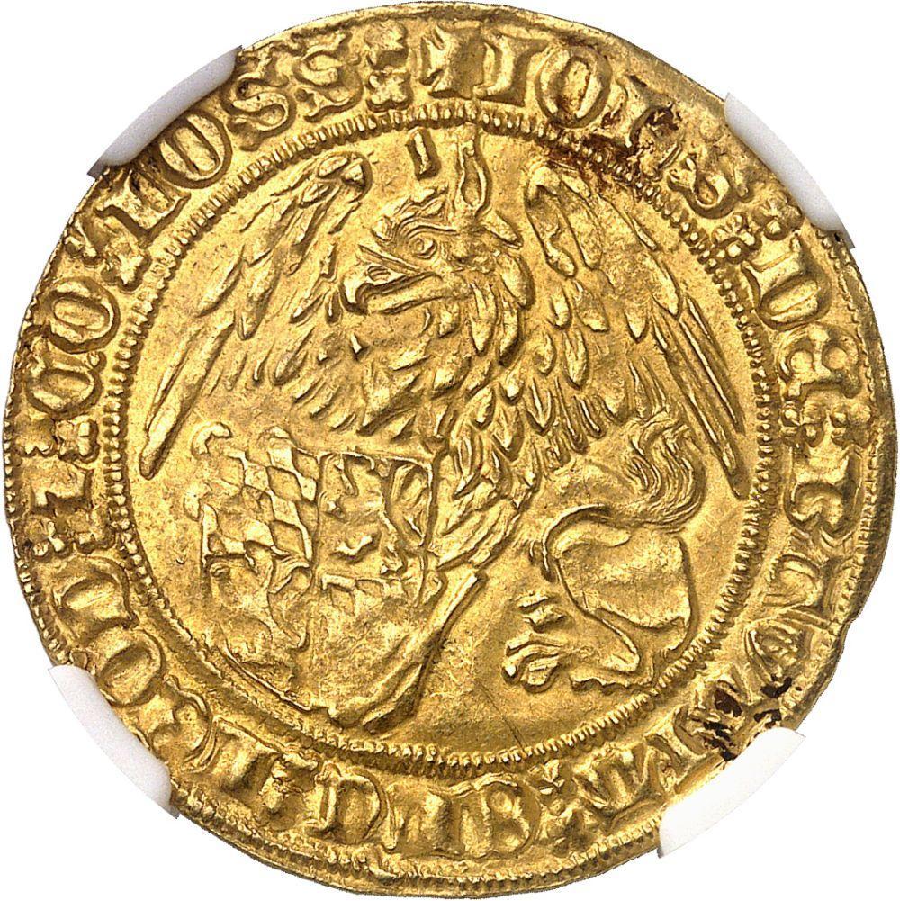 BELGIQUE Liège (évêché de), Jean de Bavière (1389-1418). Griffon d'or ND (1