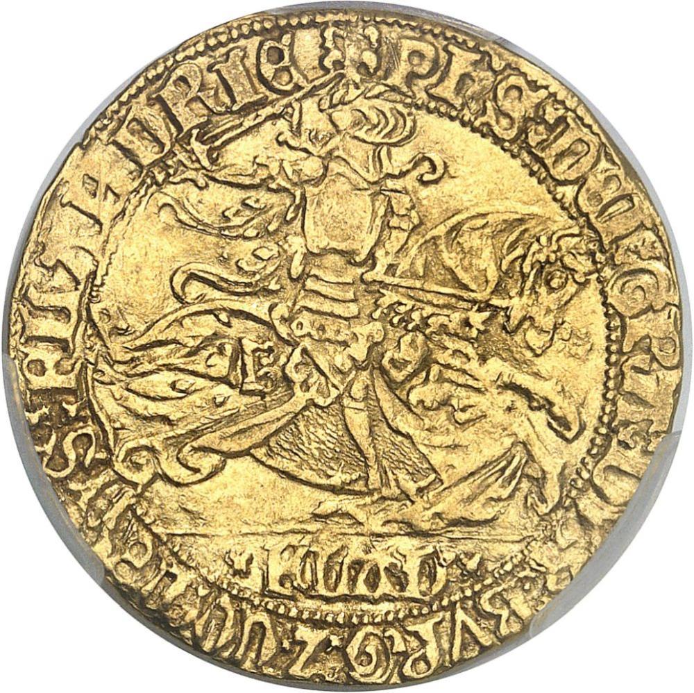 BELGIQUE Flandres (comté de), Philippe le Bon (1419-1467). Cavalier d'or ND