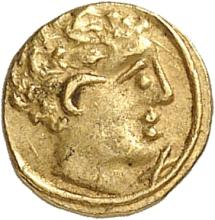 GRÈCE ANTIQUE Etrurie, Populonia (211-200 av. J.C). 10 litrae.
