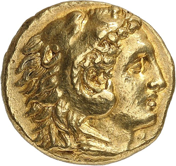 GRÈCE ANTIQUE Calabre, Tarente (276-272 av. J.C). Statère d'or.