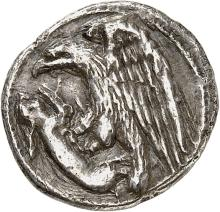 GRÈCE ANTIQUE Sicile, Agrigente (410-406 av. J.C). Hemidrachme.