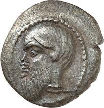 GRÈCE ANTIQUE Sicile, Catane (450-430 av. J.C). Litrae.