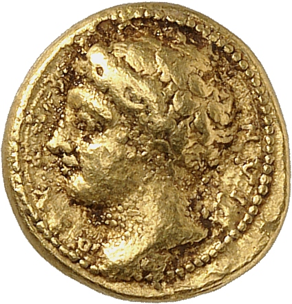 GRÈCE ANTIQUE Sicile, Syracuse (425-335 av. J.C). Décadrachme de 50 litrae d'or.