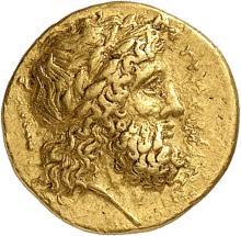 GRÈCE ANTIQUE Sicile, Syracuse (345-317 av. J.C). 30 litrae d'or.